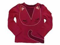 NWT Girl's Gymboree Mix 'n Match cat long sleeve shirt ~ 6 12 18 24 months 2T