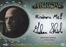Arrow Season 2 Graham Shiels as Cyrus Gold GS Auto Card b