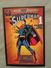 Vintage style SuperMan DC post cards, mint  Amazing New Adventures