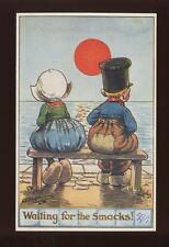 Comic Cartoon artist G Shepheard Tuck Oilette #9841 c1900s PPC Little Hollanders