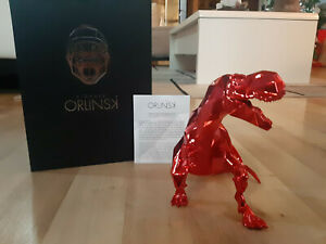 Richard ORLINSKI - T-REX SPIRIT - Red Limited Edition statue - figure