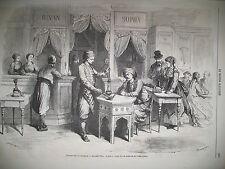 CAFE TURC NARGUILE MARINE ANGLAISE OPERA GARNIER TROCADERO GRAVURES 1867