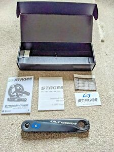 Stages Cycling G3 Power Meter Crank Arm Shimano Ultegra R8000 172.5mm