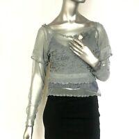 Nataya Dress Top size S blouse Formal Vintage Romantic long sleeve Boho Small