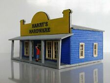 HARDWARE STORE with Verandah 60x66x48mm N 1/160 scale Laser cut Wood kit MTB