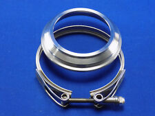 "HE351 Exhaust Flange to 3"" & HE351 turbo V-Band Clamp Kit"