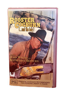 Rooster Cogburn and The Lady VHS  Retro Movie Vintage Video Cassette