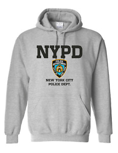 Men's Unisex NYPD Badge Police NEW YORK USA Gift kids and Adult Unisex hoodie