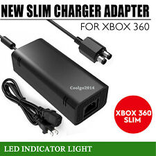 For Microsoft Xbox 360 Slim 360 S Power Supply Cord AC Adapter Power Charger CG