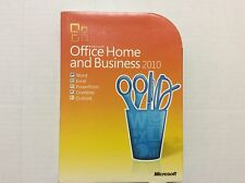 Microsoft Office Home and Business  2010 32/64 Bit Retail Box 2 PC 'S T5D-00417