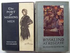2 by Meredith Nicholson ROSALIND OF REDGATE/ PORT OF MISSING MEN Illustrated - 9