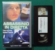 VHS FILM Ita Thriller ASSASSINIO IN DIRETTA colette o'connel ex nolo no dvd(VH79