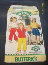 Cabbage Patch pattern for childrens clothes 00 Used Second Hand
