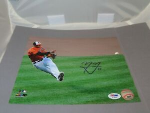 Manny Machado Signed Baltimore Orioles 8x10 Photo Autographed PSA/DNA COA 1A