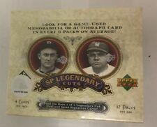 2006 Upper Deck SP Legendary Cuts Baseball Hobby Box Factory Sealed