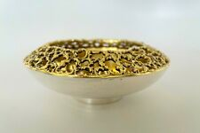 More details for stuart devlin solid silver & silver gilt bowl