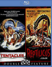 Tentacles / Reptilicus Blu-ray Shout! Factory - John Huston, Henry Fonda - New