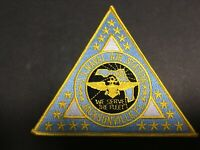 US NAVY US NAVAL AIR STATION JACKSONVILLE, FLORIDA PATCH MEASURES 5 1/2 IN. TRI