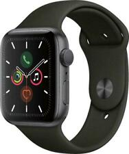 Apple Watch Series 5 44mm Space Gray Case Black Band - (MWVF2LL/A)