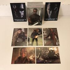 Terminator 3: Rise Of The Machines Complete Trading Card Set w/ Promo #P1 & #P2