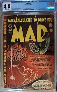 Mad #10 – 4/54 EC Publications Comic – Magazine CGC 4.0 – Alfred E. Neuman