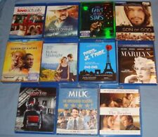 Blu-Ray lot PICK/CHOOSE comedy/drama/action/personal collection like new