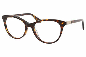 Kate Spade Caelin 086 Eyeglasses Women's Dark Havana Full Rim Optical Frame 51mm