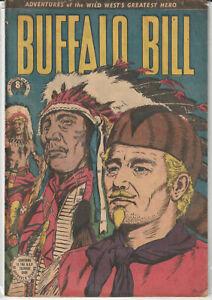 Australian Western Comic: Buffalo Bill #38 Horwitz Publications 1954