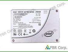 """Intel 200GB DC S3700 2.5"""" 6GB/s SATA SSD SSDSC2BA200G3 MLC Solid State Drive"""