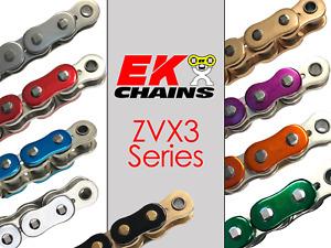 EK 530-ZVX3 Motorcycle Drive Chain (Specify Links and Color) Rivet Master Link