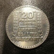 Pièces de monnaie françaises de 20 francs 20 francs à 40 francs qualité SPL