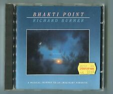 Richard burmer CD Bhakti Point © 1987 West Germany 8-track-CD Electronic ambient