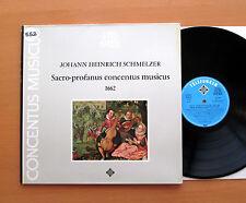 Schmelzer Sacro-Profanus Concentus Musicus - Telefunken 6.42100 Gatefold NM/EX