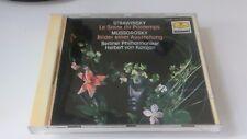 Strawinsky Mussorgsky Karajan DGG CD