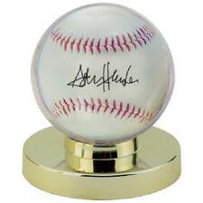 6 Ultra Pro Brand Gold Base Ball Baseball Holder Display Case New Sealed