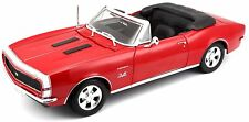 CHEVROLET CAMARO SS 396 CONVERTIBLE 1967 RED MAISTO 31684 1/18 ROUGE ROSSO ROT