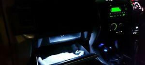 Toyota Landcruiser Prado 120 Series 6500k Cool White Glove Box Led Upgrade