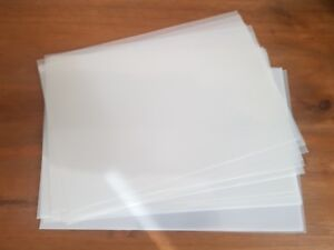 Genuine Mylar 125 mu Stencil Sheets Re-usable Plastic - Choose Size and Quantity