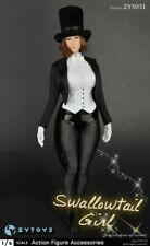 1/6 Female Magician Tuxedo Costume Suit Set For 12'' Figure Hot Toys PHICEN TBL