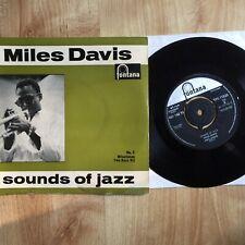 "Miles Davis - Sounds Of Jazz 7"" - TFE 17223"