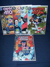 Captain Atom Comic Lot #19 - #22, Annual #2 DC Comics NM with Bag and Board 1988