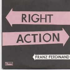 Franz Ferdinand-Right Action promo cd single