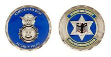 RAMSTEIN AIR FORCE BASE SECURITY POLICE TO SERVE AND PROTECT CHALLENGE COIN
