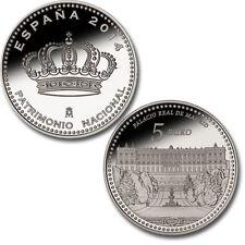 ESPAÑA: 5 euro plata 2014 Palacio Real de Madrid - 4 reales PATRIMONIO NACIONAL