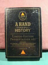 More details for bass bitter a hand in history ltd edition presentation set - sealed cards v rare