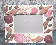 "GORGEOUS SEA SHELL PICTURE FRAME HAWAII 4"" x 3"" APPROX."