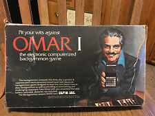 Omar I Vintage Computer Backgammon Game Box