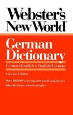 Webster's New World German Dictionary: German/English English/German Peter Terr
