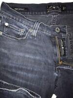 LUCKY BRAND Women's SZ 4/27 SWEET STRAIGHT Super Dark Wash Stretch Denim Jeans