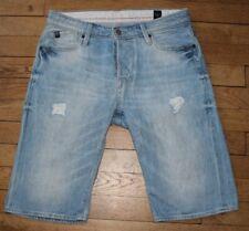 JAPAN RAGS  Short en Jeans pour Homme W 27 Taille Fr 36  (Réf # J009)